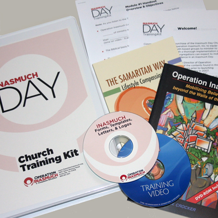 Church Inasmuch Day Training Kit