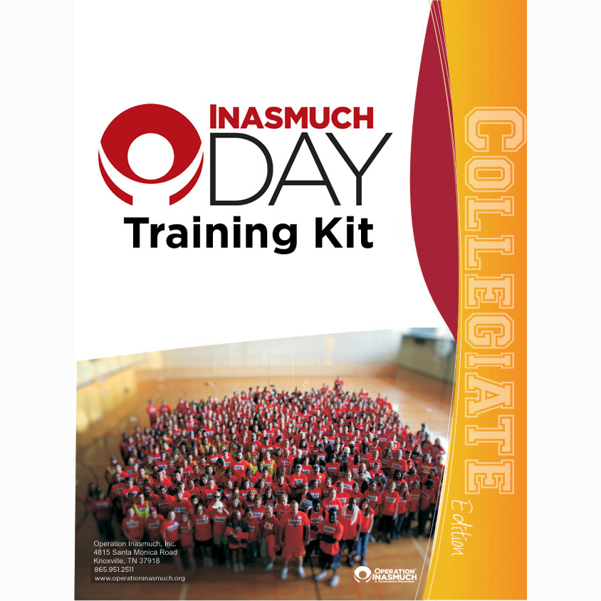 Collegiate Inasmuch Day Training Kit